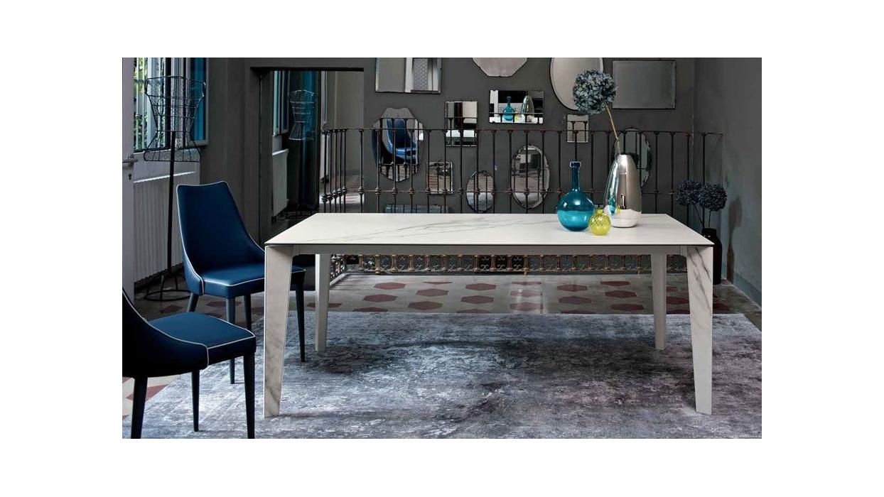 table bontempi casa model senso extendable arredare moderno. Black Bedroom Furniture Sets. Home Design Ideas