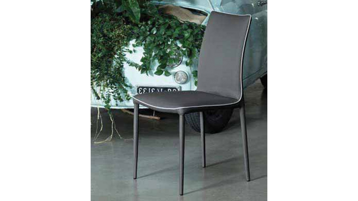 chair bontempi casa model nata arredare moderno. Black Bedroom Furniture Sets. Home Design Ideas