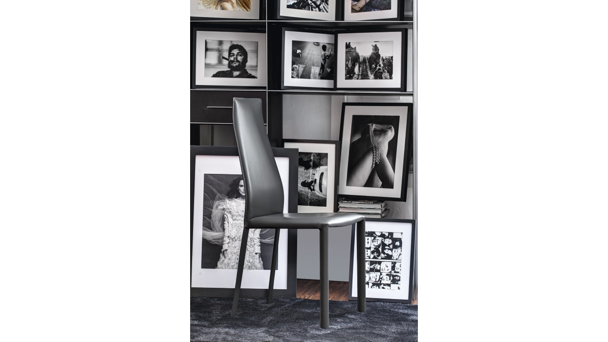 chair bontempi casa model dalila arredare moderno. Black Bedroom Furniture Sets. Home Design Ideas