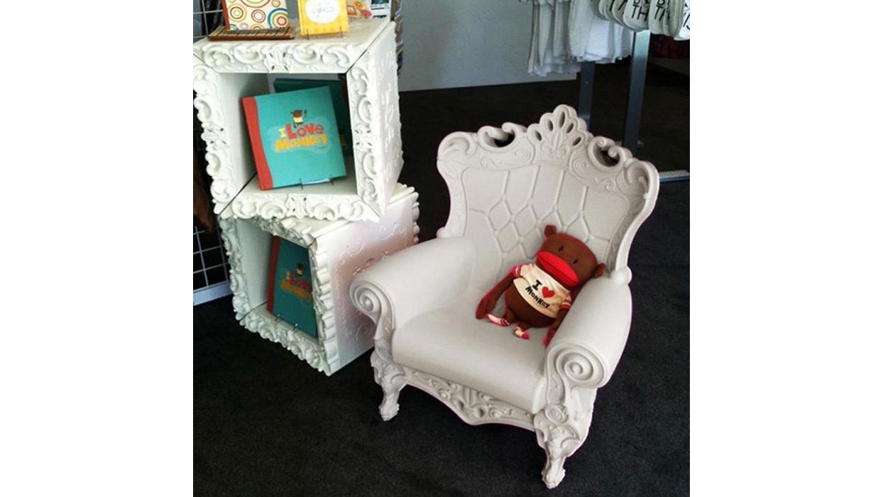 Poltrona Little Queen Of Love.Little Queen Of Love Slide Armchair