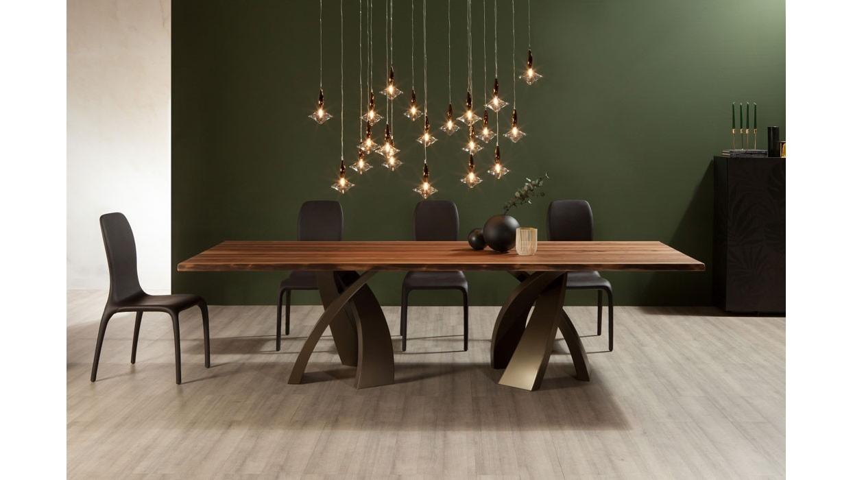 Table Tonin Casa model Big Eliseo rectangular - ARREDARE MODERNO