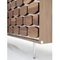 Honey sideboard 2 doors 2 drawers Tonin Casa
