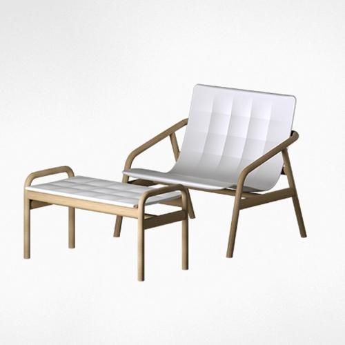Loungette chair Serralunga