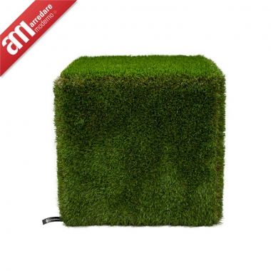 Pouf in Ecoerba Sitap Collection Pret A Porter My Style Line Modern