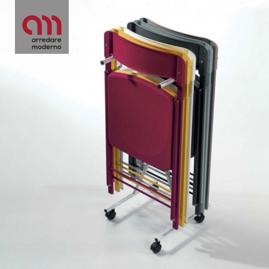 Trolley for chairs First, Zeta & Piper Pezzani