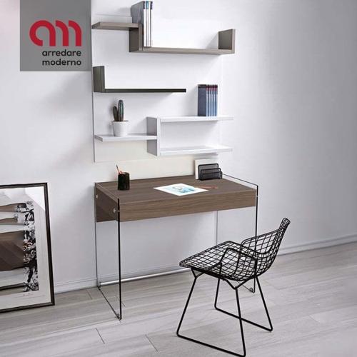 Desk with bookcase My Pezzani