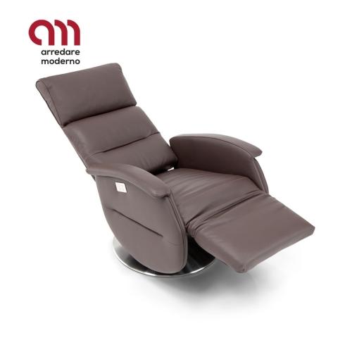 Ginevra Spazio Relax Swivel armchair