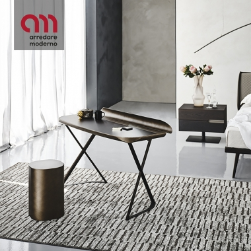 Cocoon Leather Desk Cattelan Italia