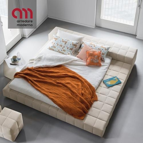 Squaring Penisola Bed Bonaldo