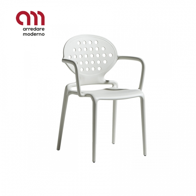 Colette Chair Scab with armrests