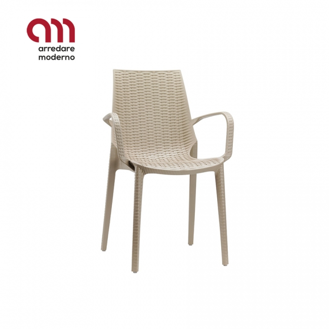Lucrezia Chair Scab with armrests