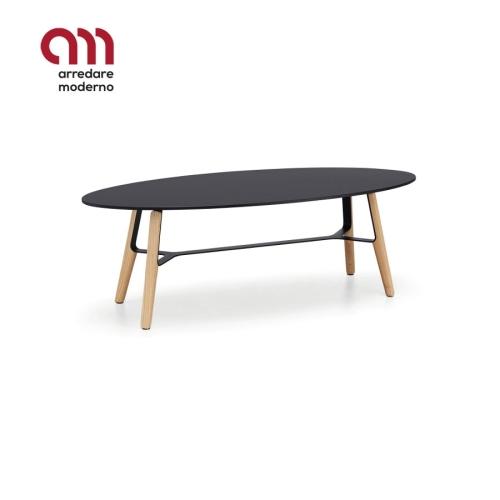 Liù Midj Coffee table with oval top