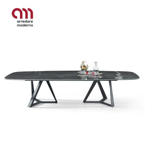 Millennium XXL Bontempi fixed barrel-shaped Table