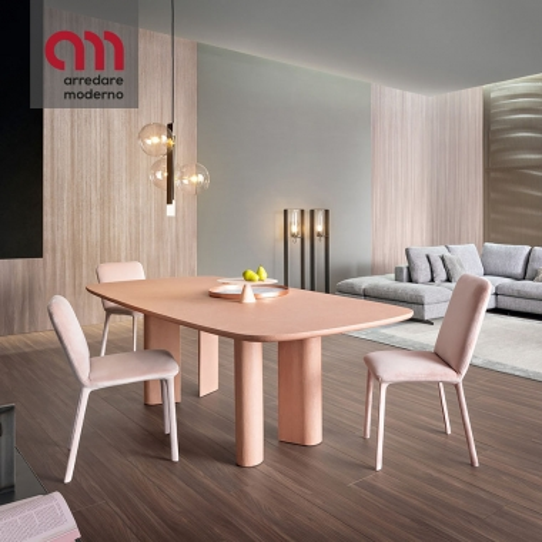 Geometric Bonaldo Clay Table
