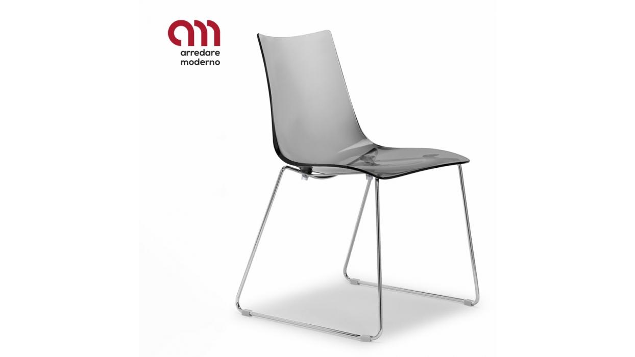 Zebra Antishock Sled Chair Scab