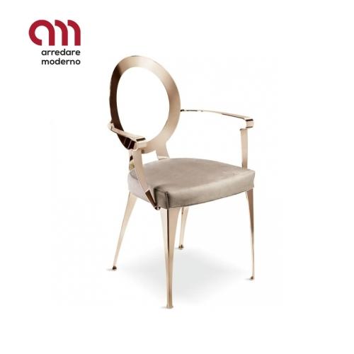 Miss Cantori armchair bare backrest