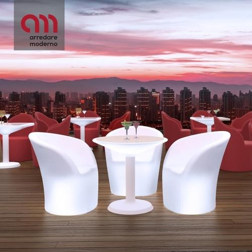 Antigua Lightable Table Modum
