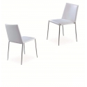 Chair with stainless steel frame L05-CH302