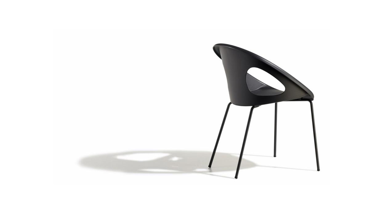 natural drop chair scab arredare moderno. Black Bedroom Furniture Sets. Home Design Ideas