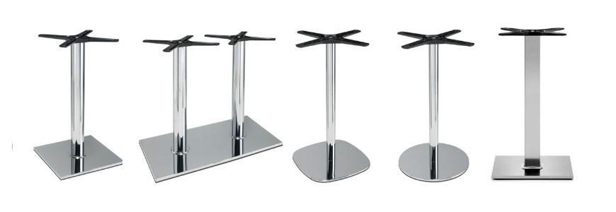 Bar table bases