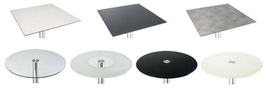 Bar table tops