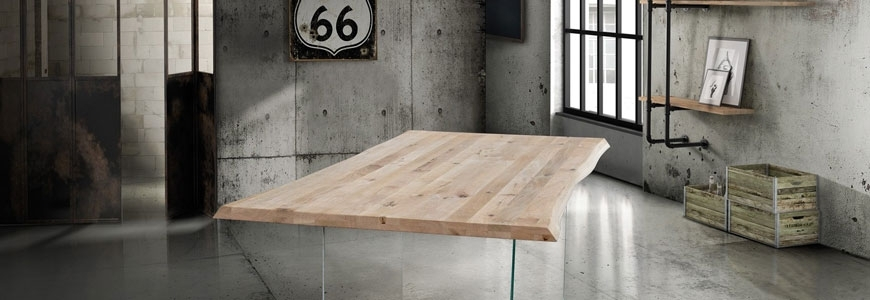 Industrial style tables