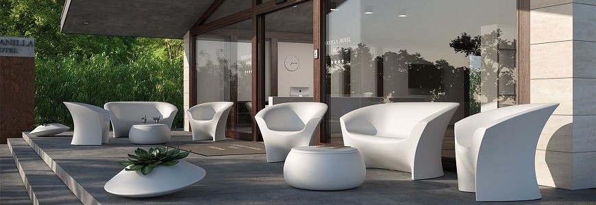 Garden armchairs and sofas