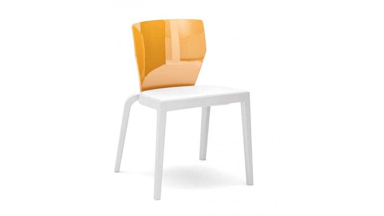 Sedia Schienale Trasparente Bi Infiniti Design : Bi infiniti design silla