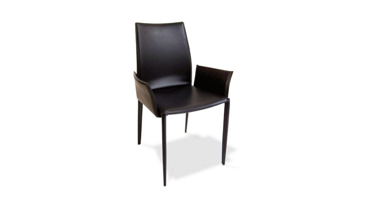 Chaise bontempi casa mod le linda avec bras arredare moderno for Chaise avec bras