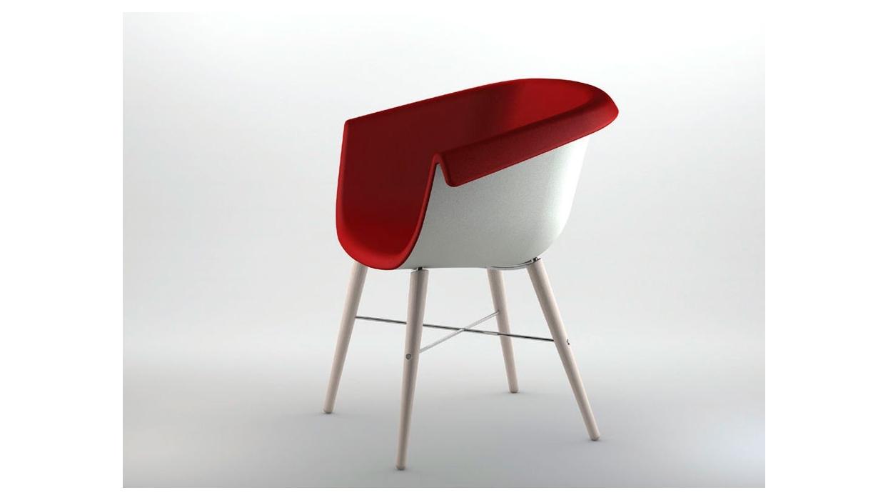 Chaise collier wood casprini arredare moderno - Table et chaise spiderman ...