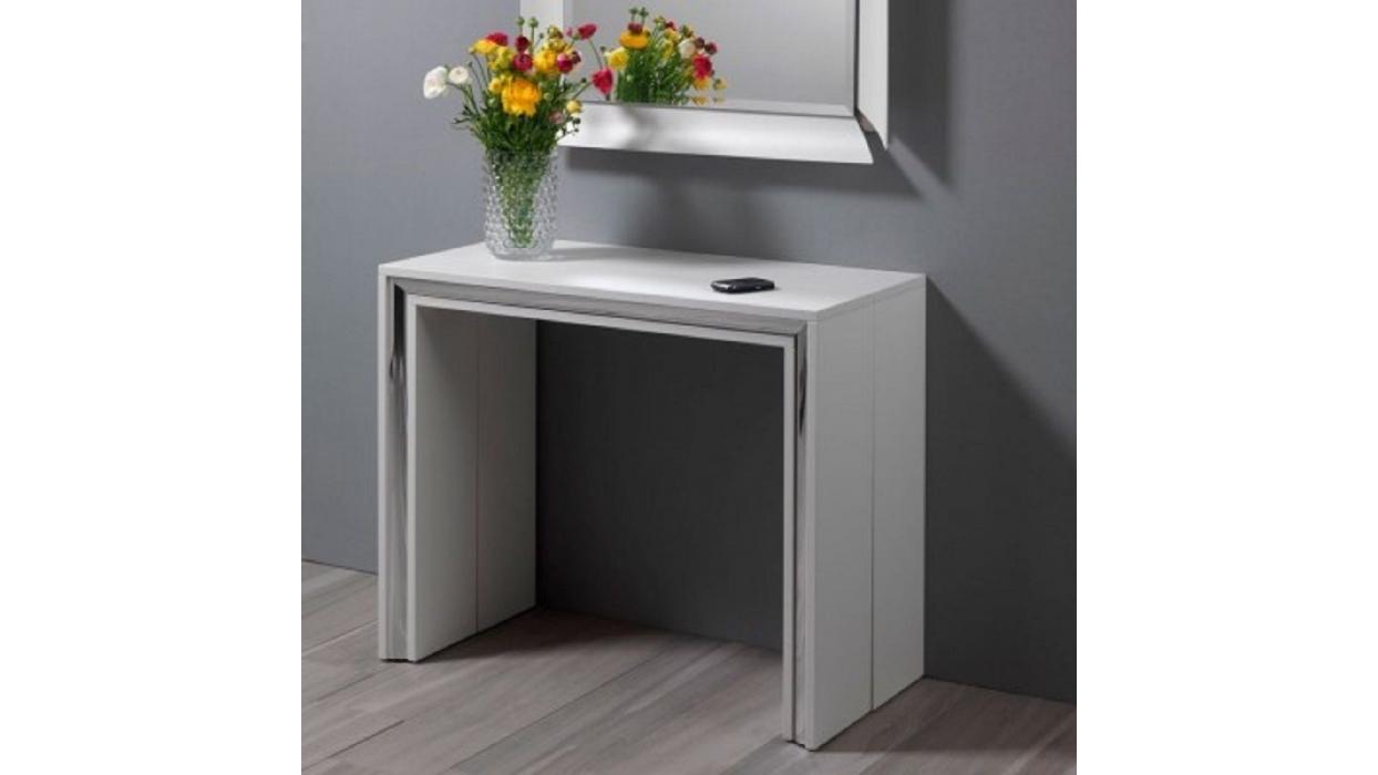 Table console leonardo pezzani arredare moderno for Consoles extensibles