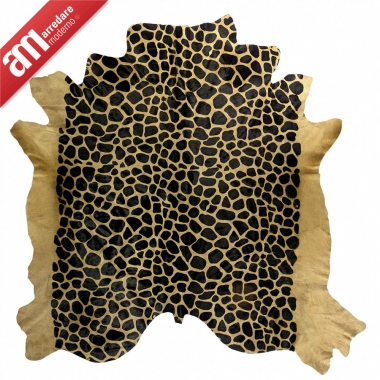 Tapis Pelle Stampata Sitap Collection Haute Couture MyDesign Ligne Glamour Leathers