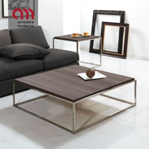 Table basse Lamina Pezzani XL carré