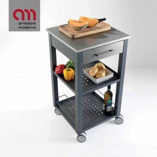 Chariot de cuisine New Chef Pezzani