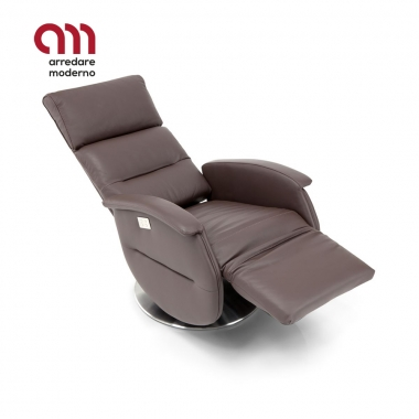 Fauteuil pivotant relax Ginevra Spazio Relax