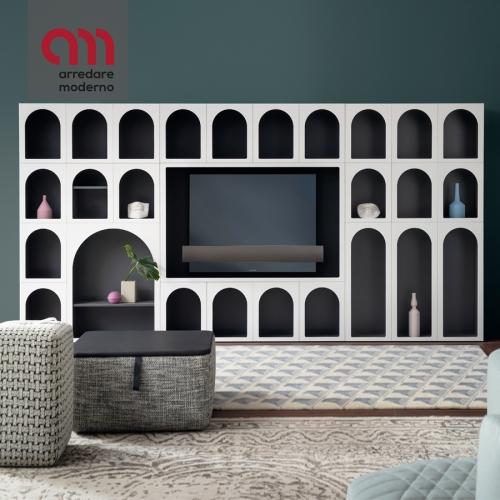 Porte Tv Cabinet de Curiosité Bonaldo