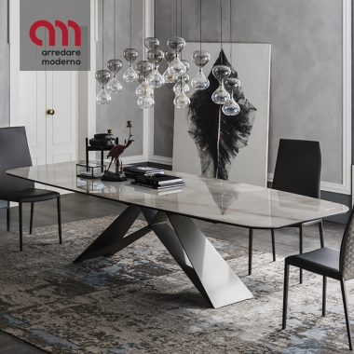 Table Premier Keramik Cattelan Italia