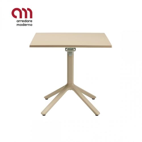 Table Eco Scab Design ancrable avec plateau lisse