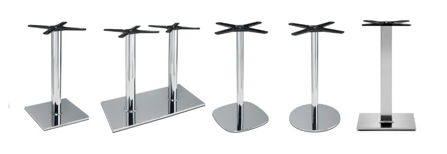 Bases de table bar