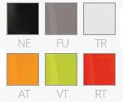 Silla Gliss transparente Pedrali colores