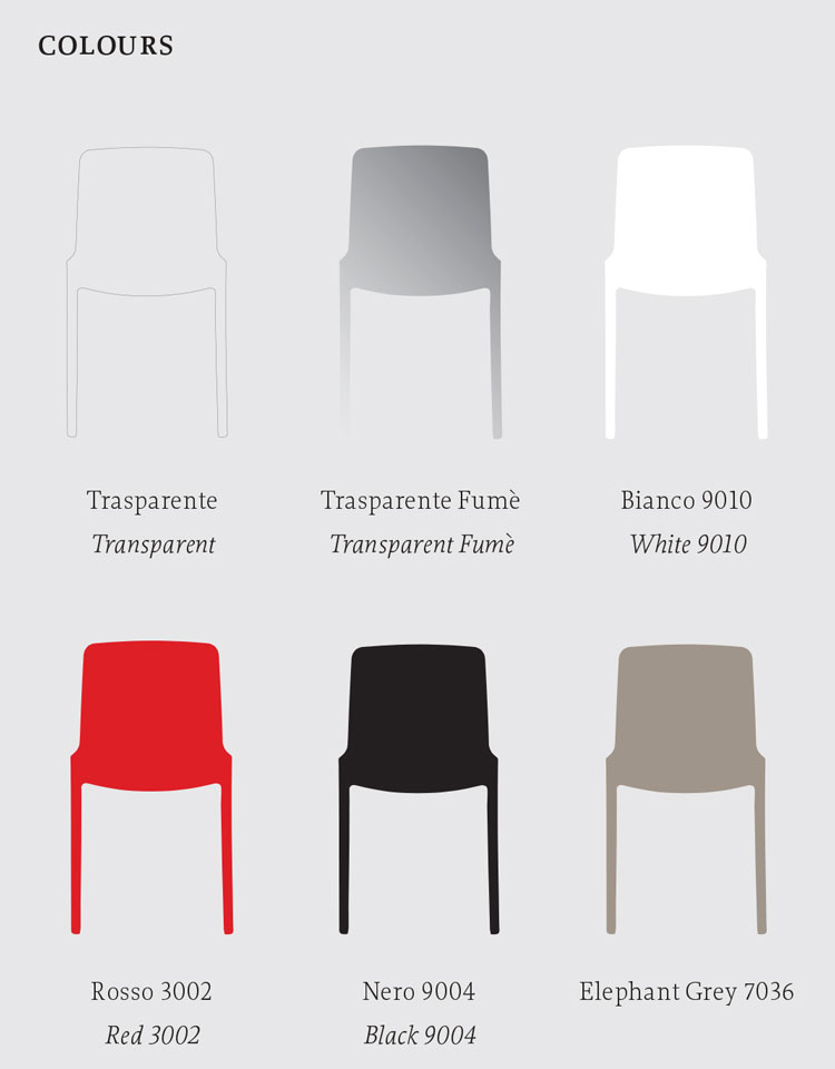 Tiffany Chair Casprini colors