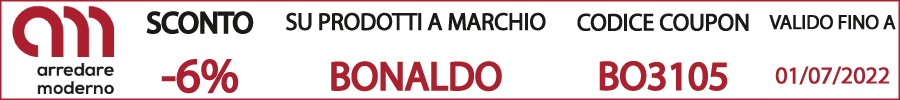 codice sconto coupon Bonaldo