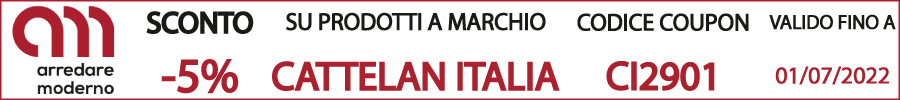 codice sconto coupon cattelan italia