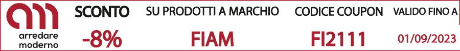 codice sconto coupon fiam italia
