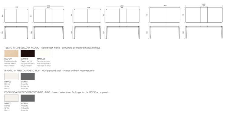 Porta Venezia Extendable Table Slim Infiniti Design ...