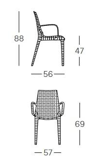 sedia-lucrezia-con-braccioli-scab-dimensioni