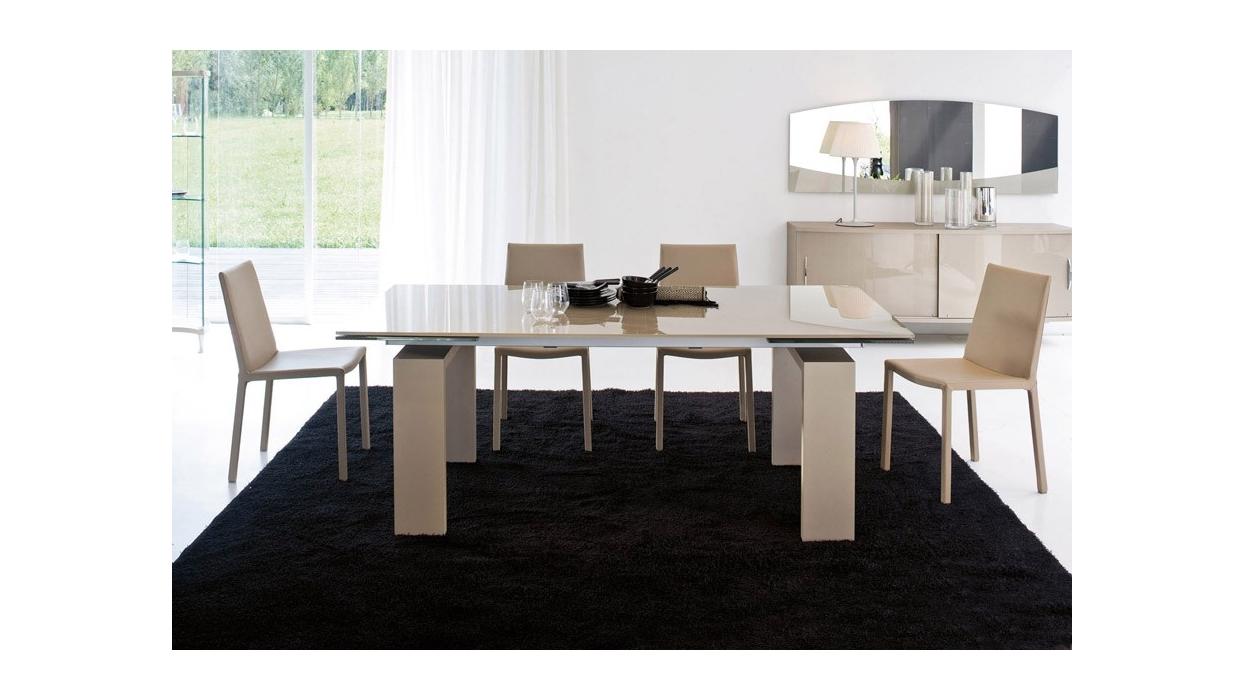 Tavolo Allungabile Vetro Moderno Brooklyn : Tavolo tonin casa modello brooklyn allungabile arredare