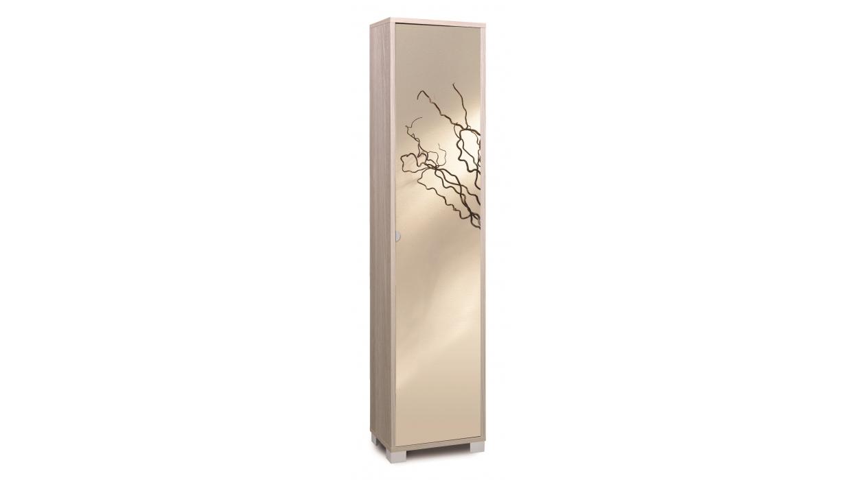 Mobile colonna legno con anta specchio Art.744SPFU - ARREDARE MODERNO