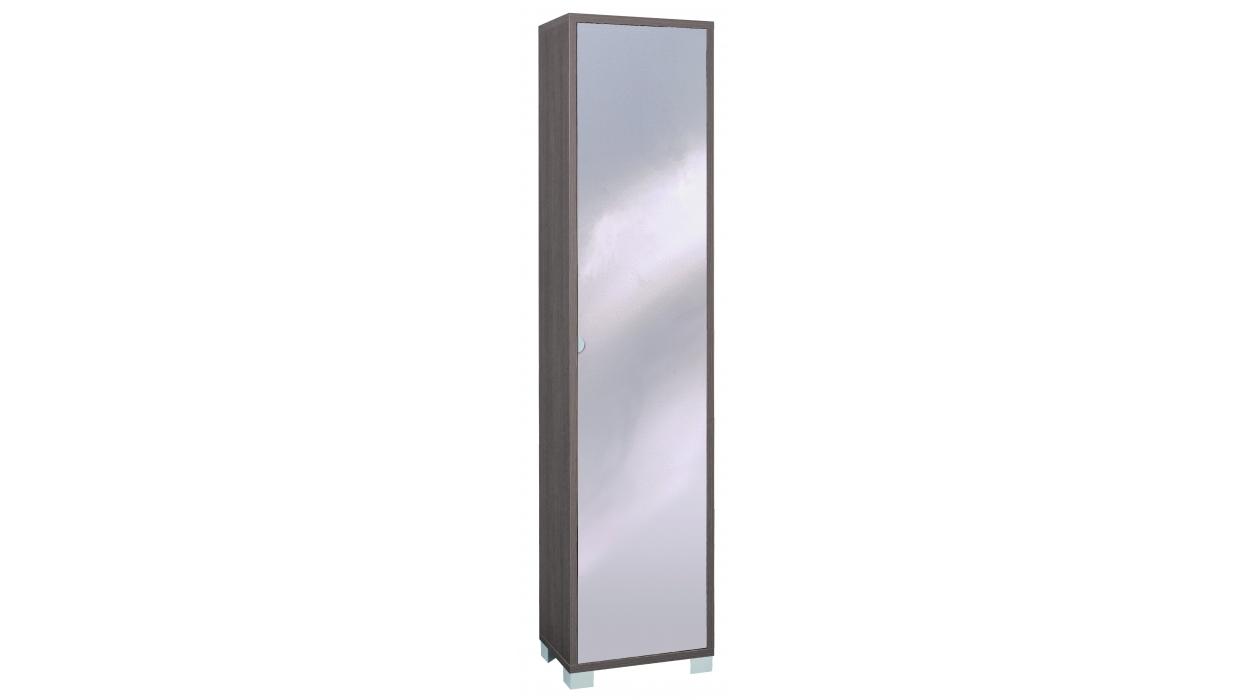 Mobile colonna legno con anta specchio - Scarpiera con anta a specchio ikea ...