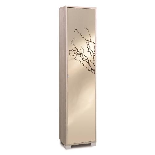 Mobile colonna legno con anta specchio Art.744SPFU